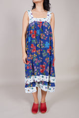 Warm Margaritaville Dress in Blue - Vert & Vogue