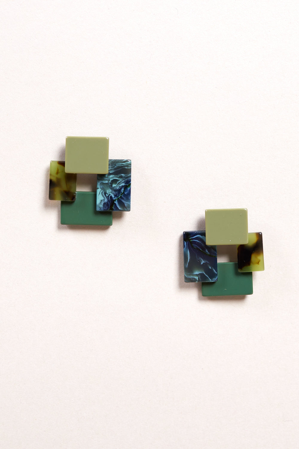 Accord Earring in Verde