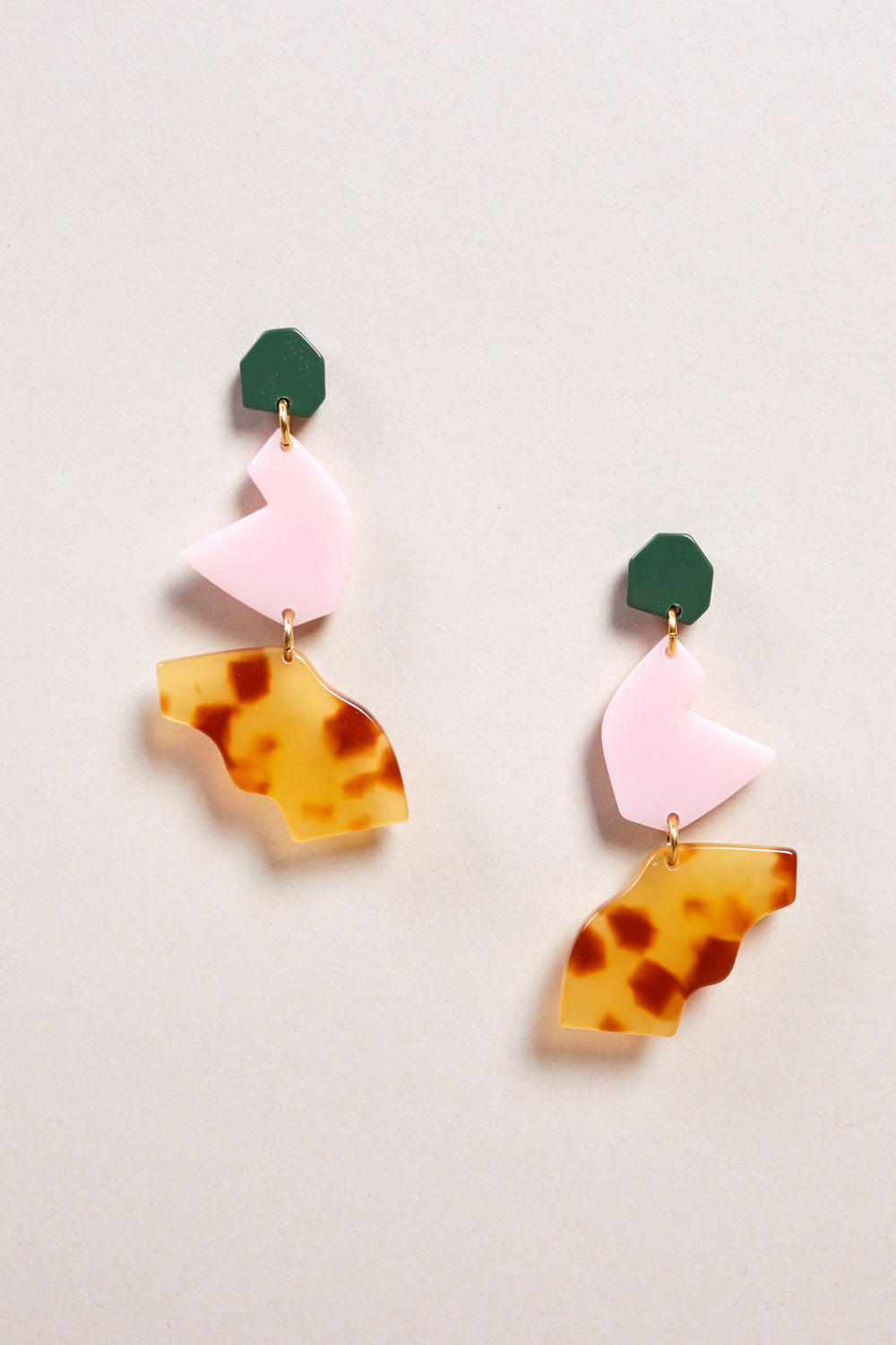 Intervalle Earring in Miel