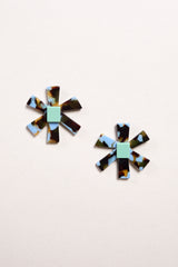 Apres Ski Son Earring in Azul - Vert & Vogue