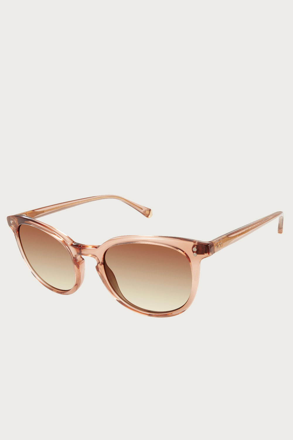 Nadia Polarized Sunglasses in Brown