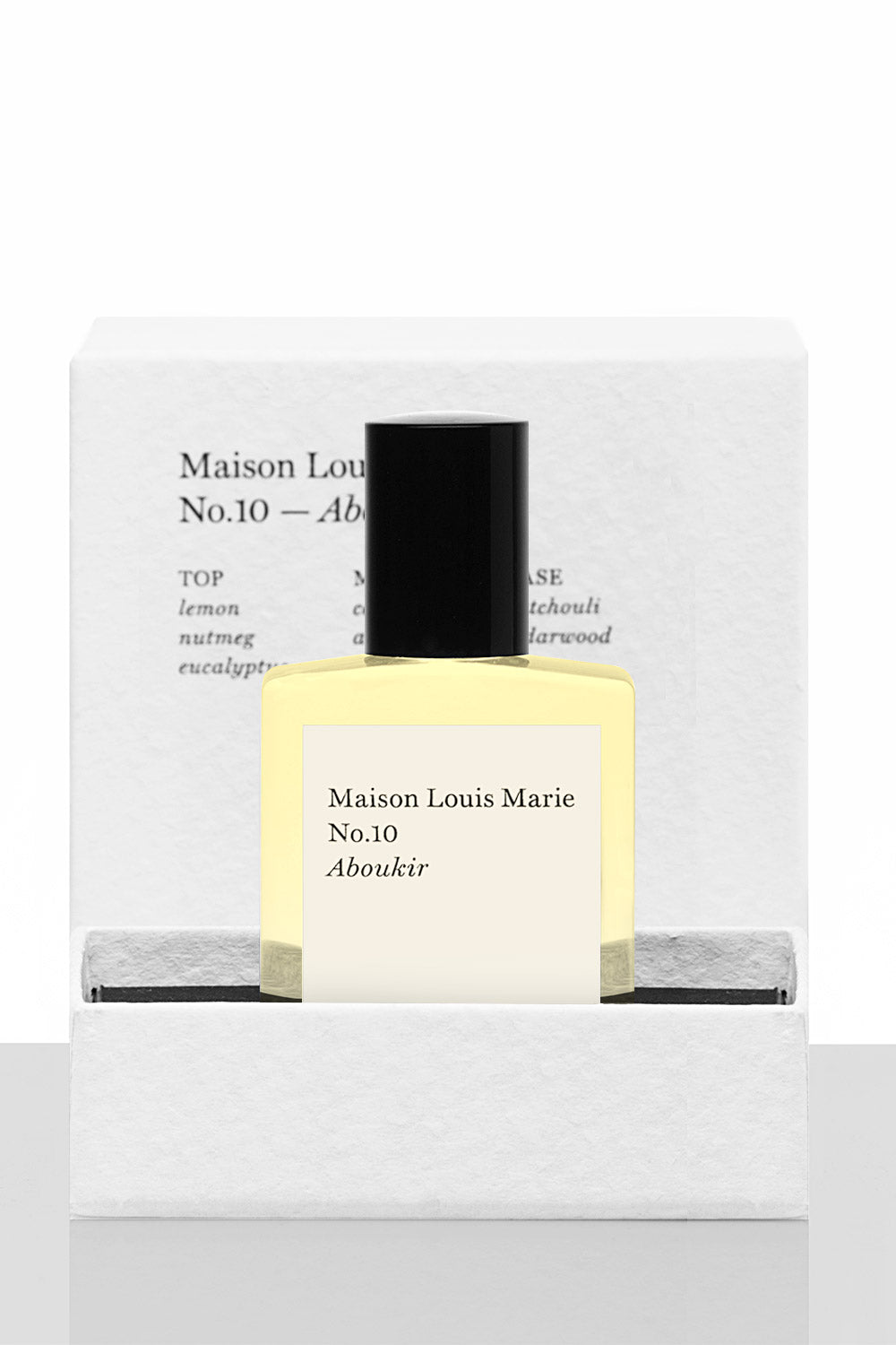 Maison Louis Marie No. 10 Aboukir Perfume Oil - Vert & Vogue