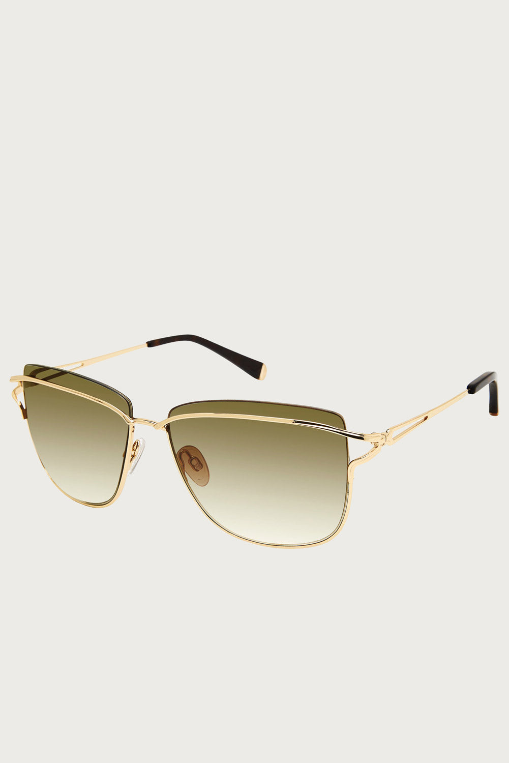 Noor Sunglasses in Gold