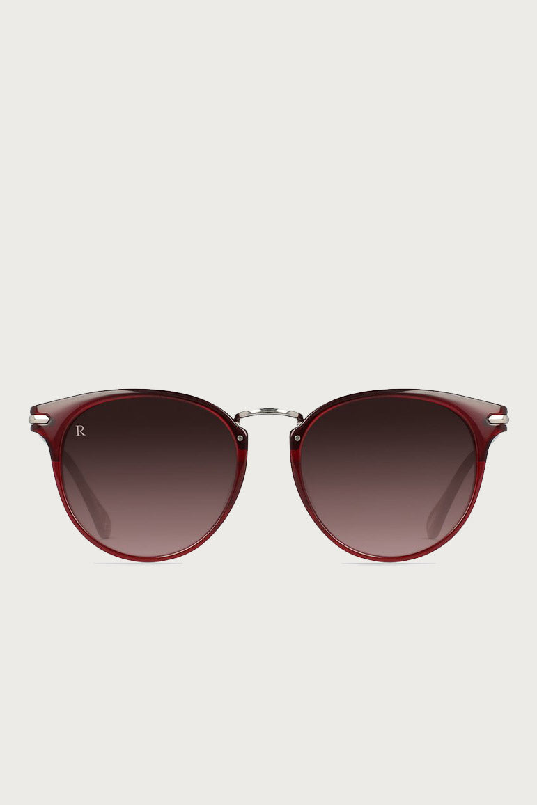 Norie Alchemy Sunglasses in Oxblood