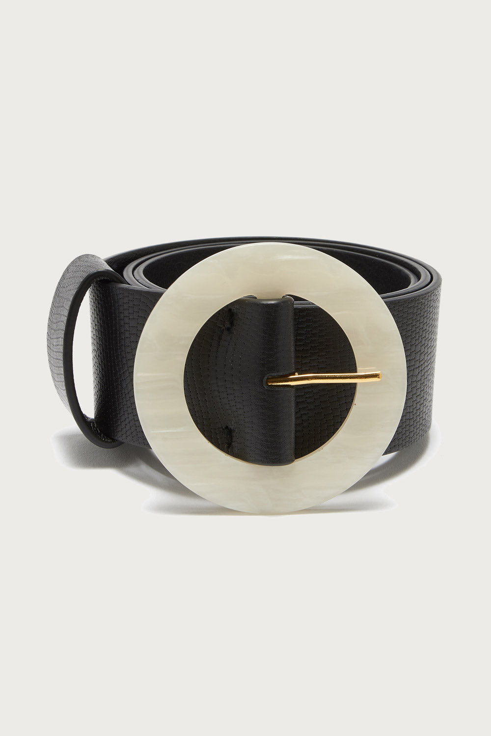 Lizzie Fortunato Louise Belt in Onyx - Vert & Vogue