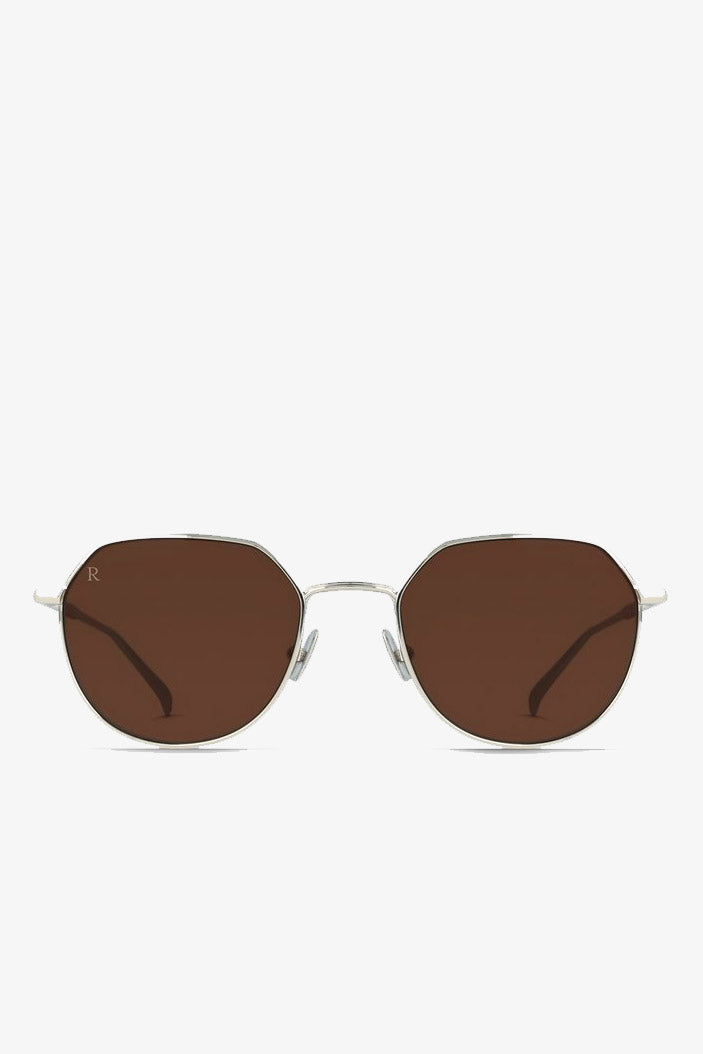 Byres Sunglasses in Silver