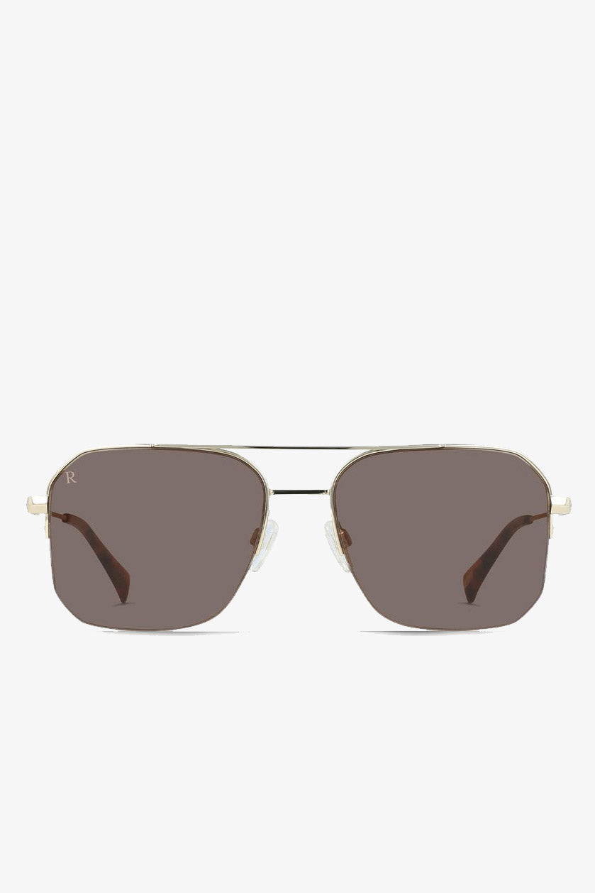 Munroe Sunglasses in Shiny Gold
