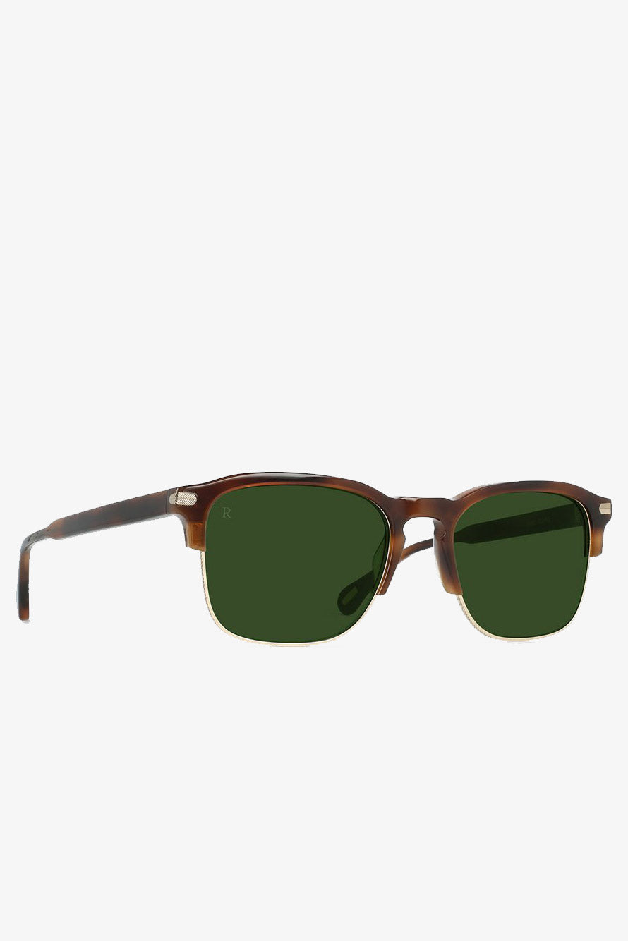 Raen Optics Wiley Alchemy Sunglasses in Americano - Vert & Vogue