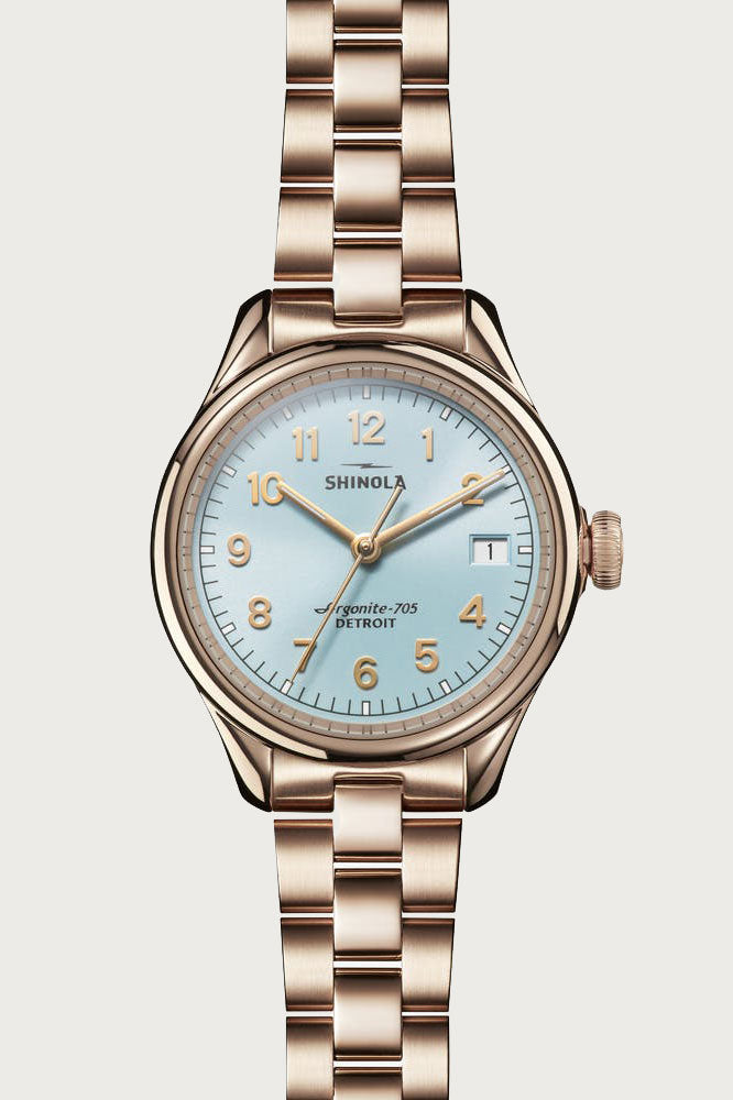 Vinton 32mm Watch in Chambray