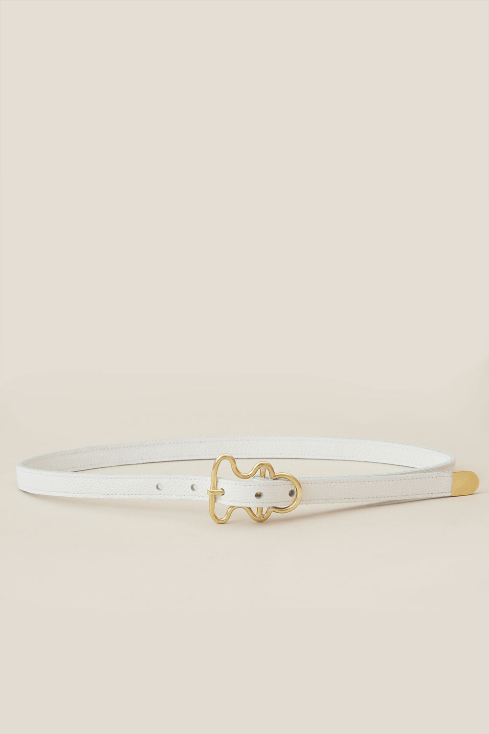 Glider Belt in White