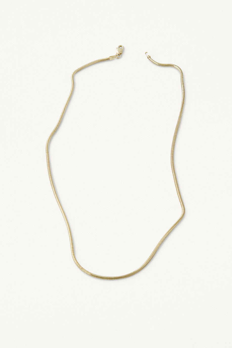 Kathleen Whitaker Snake Chain Necklace - Vert & Vogue