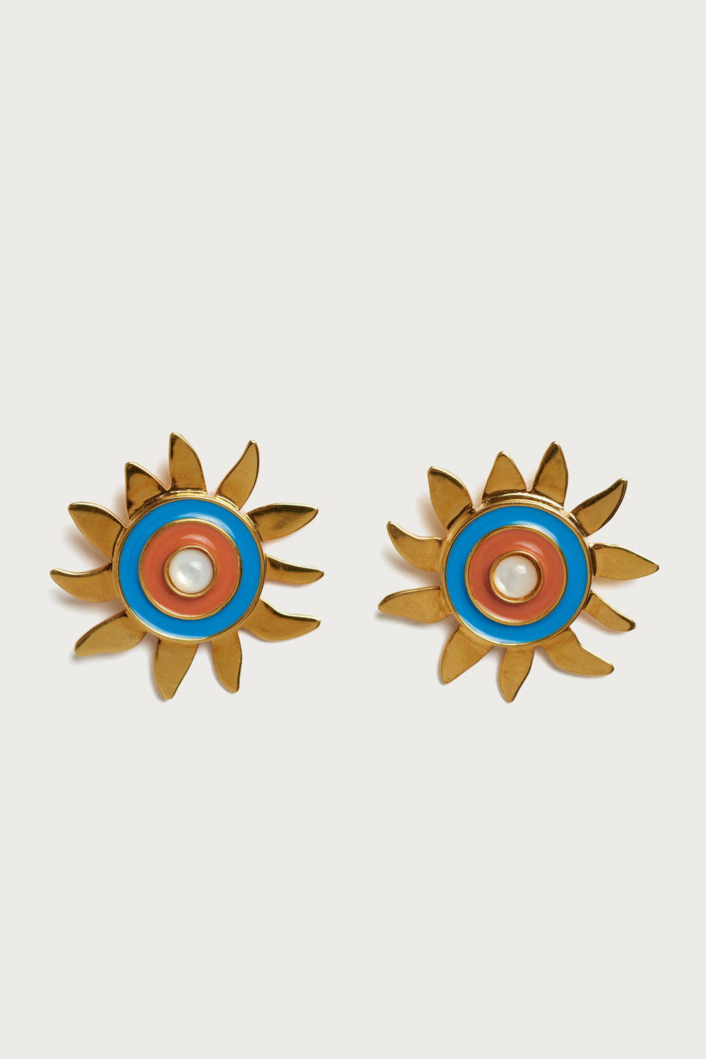 Lizzie Fortunato Corsica Sun Earrings - Vert & Vogue
