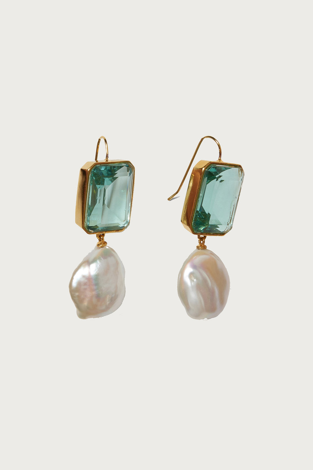 Aegean Earrings in Multi Quartz