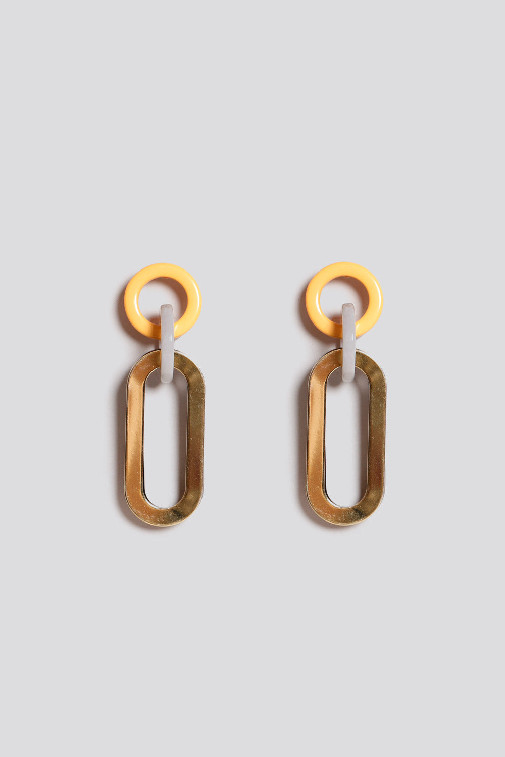 Sour Earrings in Yellow Gold