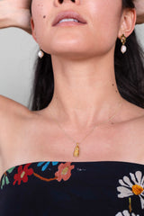 Woman Vase Necklace