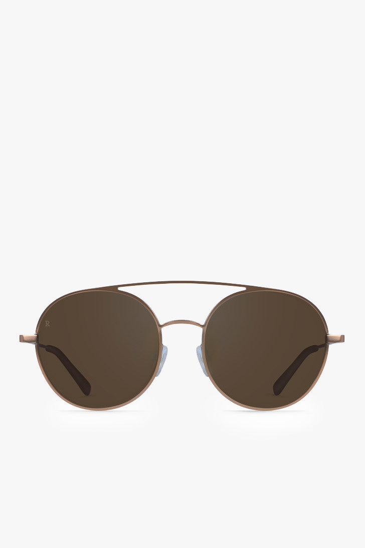 Raen Optics Scripps Sunglasses in Rose Gold - Vert & Vogue