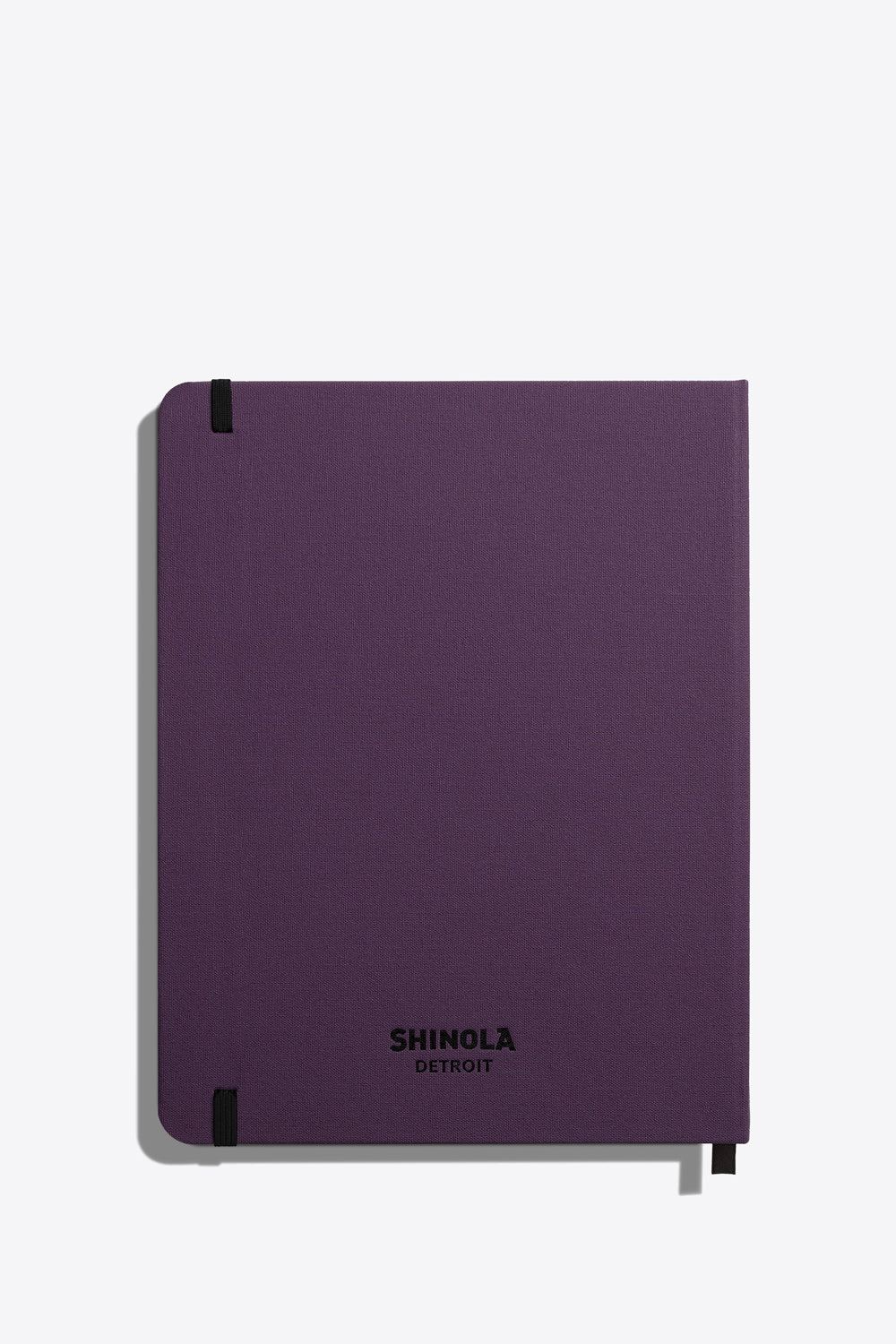 Large Hard Ruled Journal in Purple