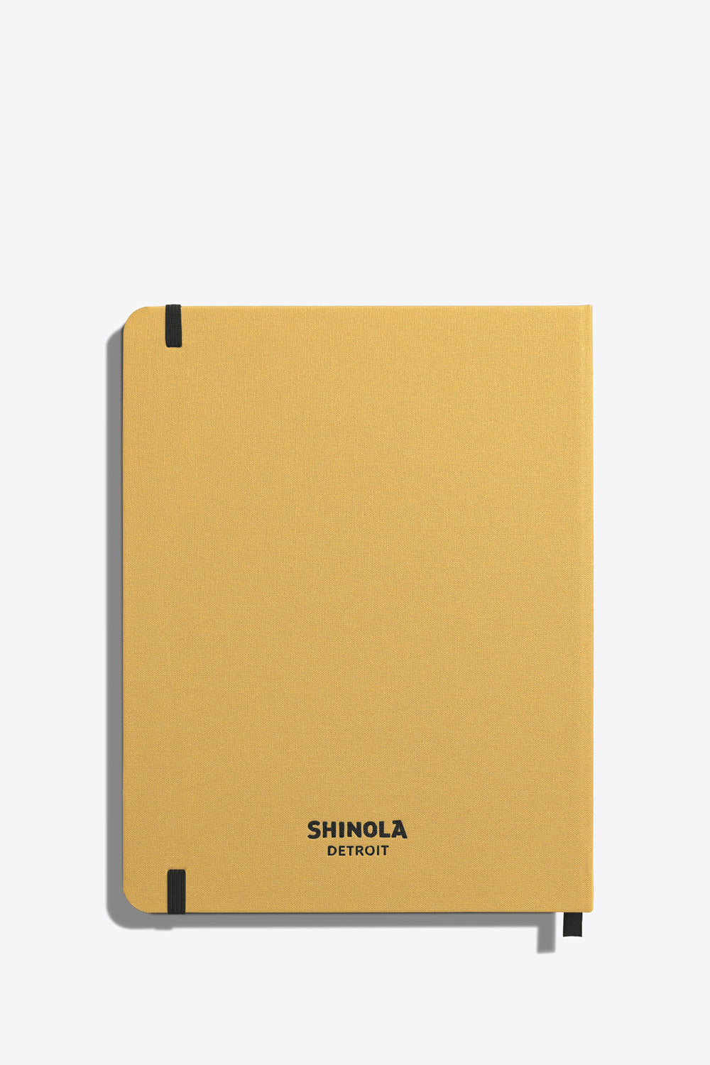 Large Hard Ruled Journal in Gold