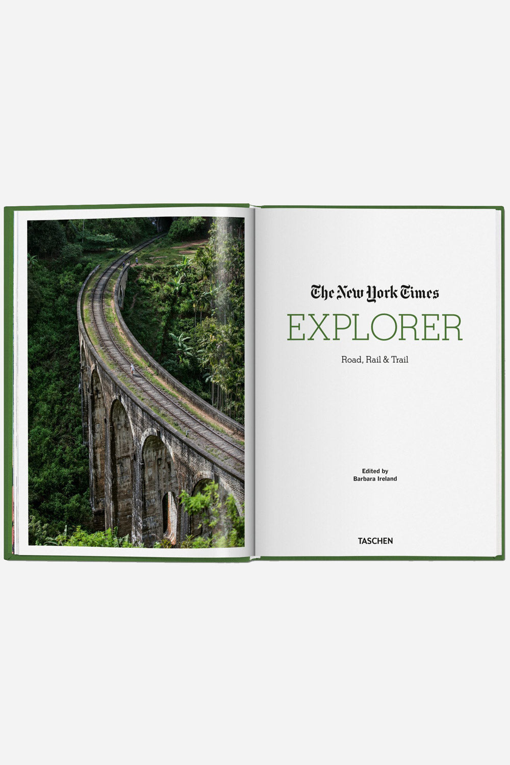 NYT Explorer - Road Rail and Trail Hardcover
