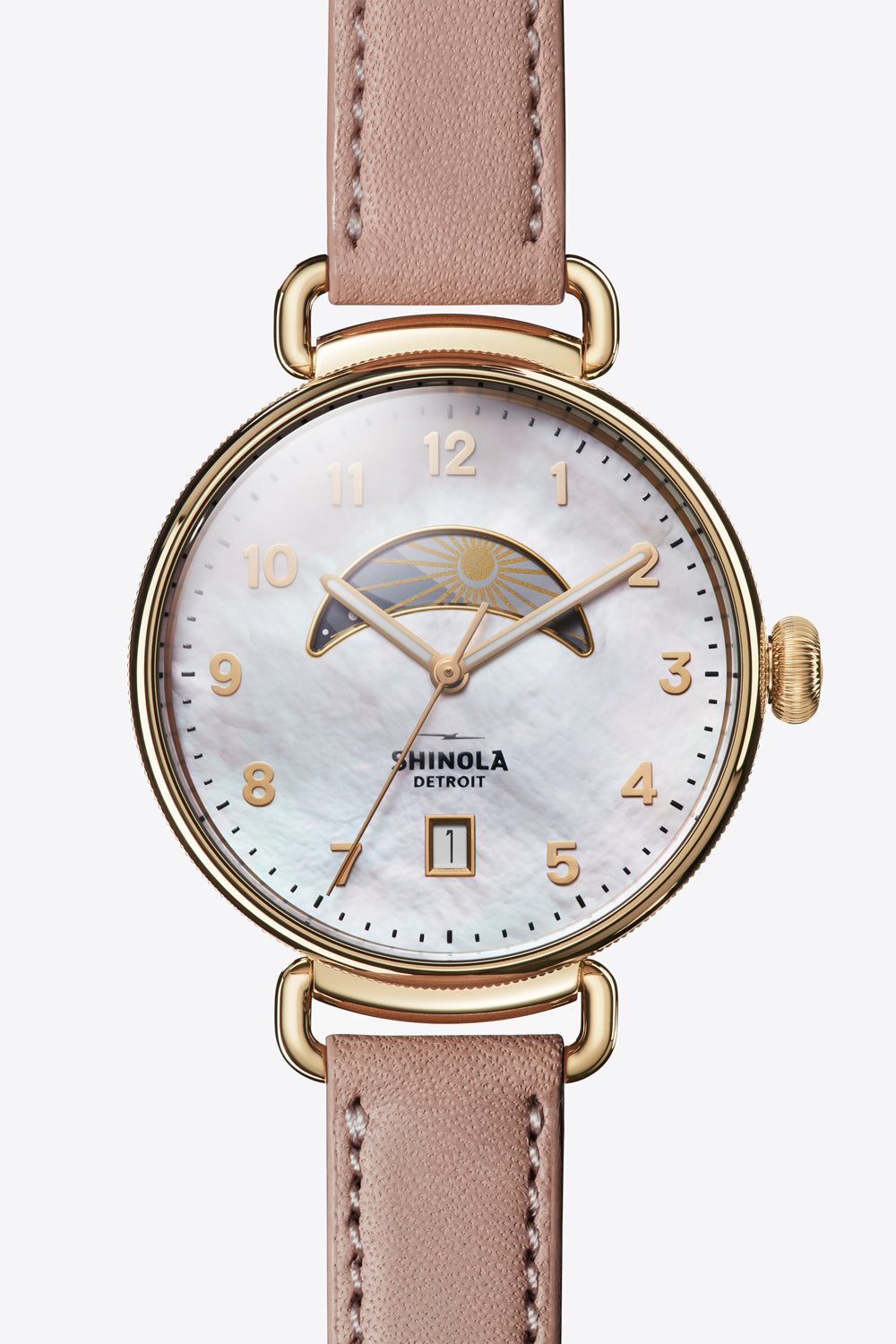 Canfield 38mm Watch in Rose