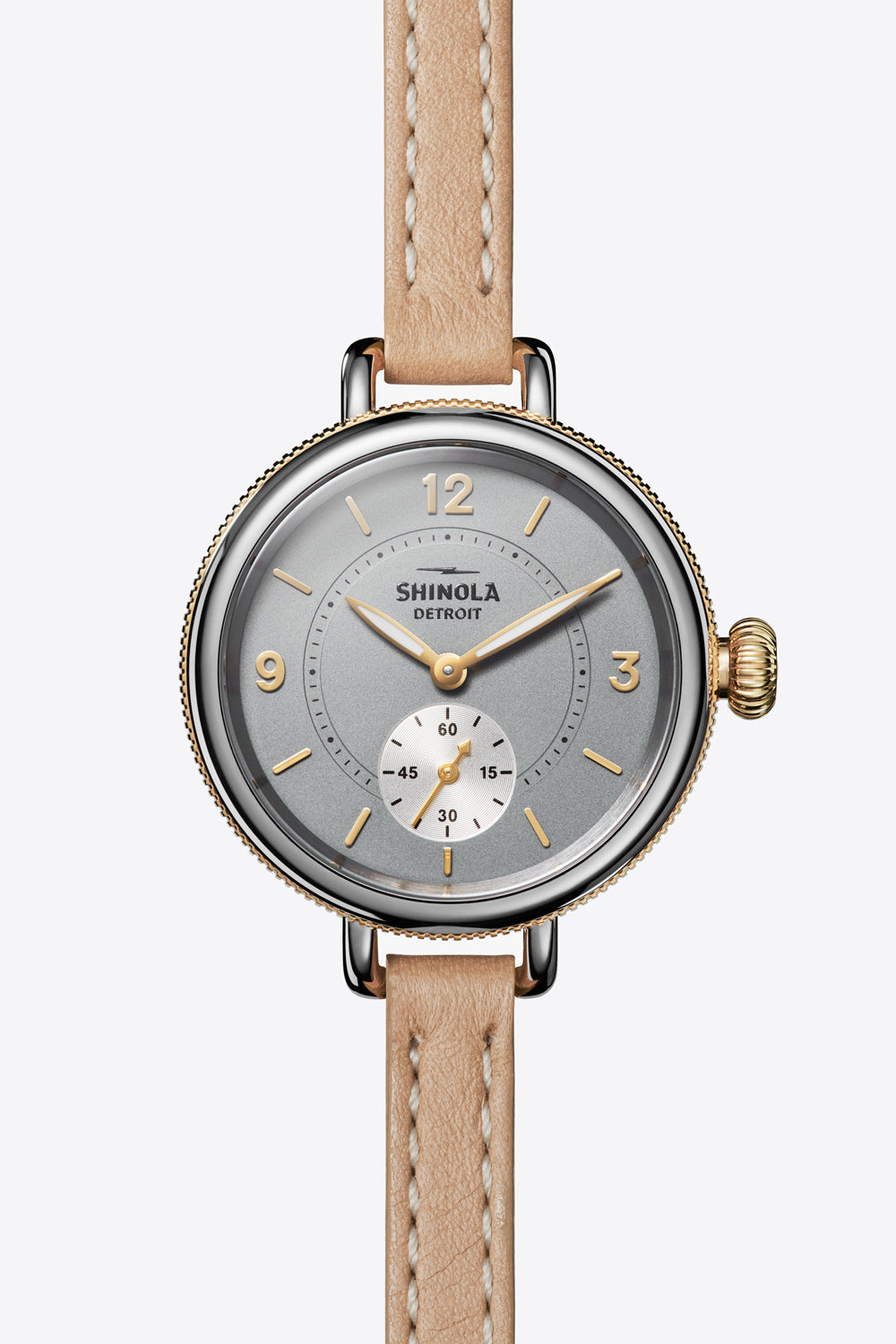Birdy 34mm Watch in Cool Grey/Natural