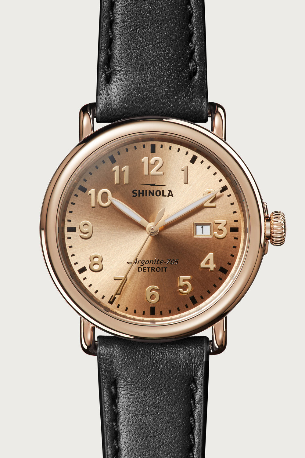 Runwell 41mm Watch in Champagne Gold