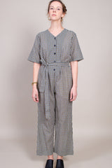 Ace and Jig Benji Jumpsuit in Charleston - Vert & Vogue