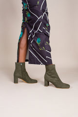 Agnes Boot in Sage