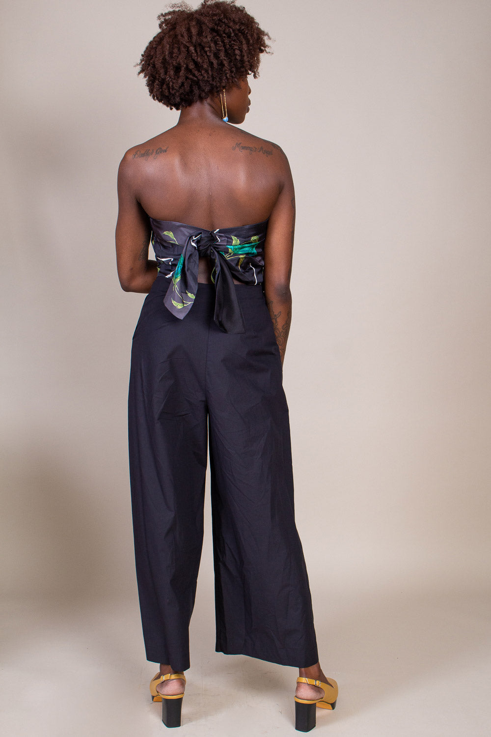 Tillson Jumpsuit in Black Multi