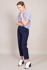 Rachel Comey Murray Pant in Navy - Vert & Vogue