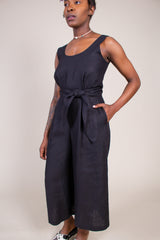 No.6 Dorsey Jumpsuit in Black - Vert & Vogue