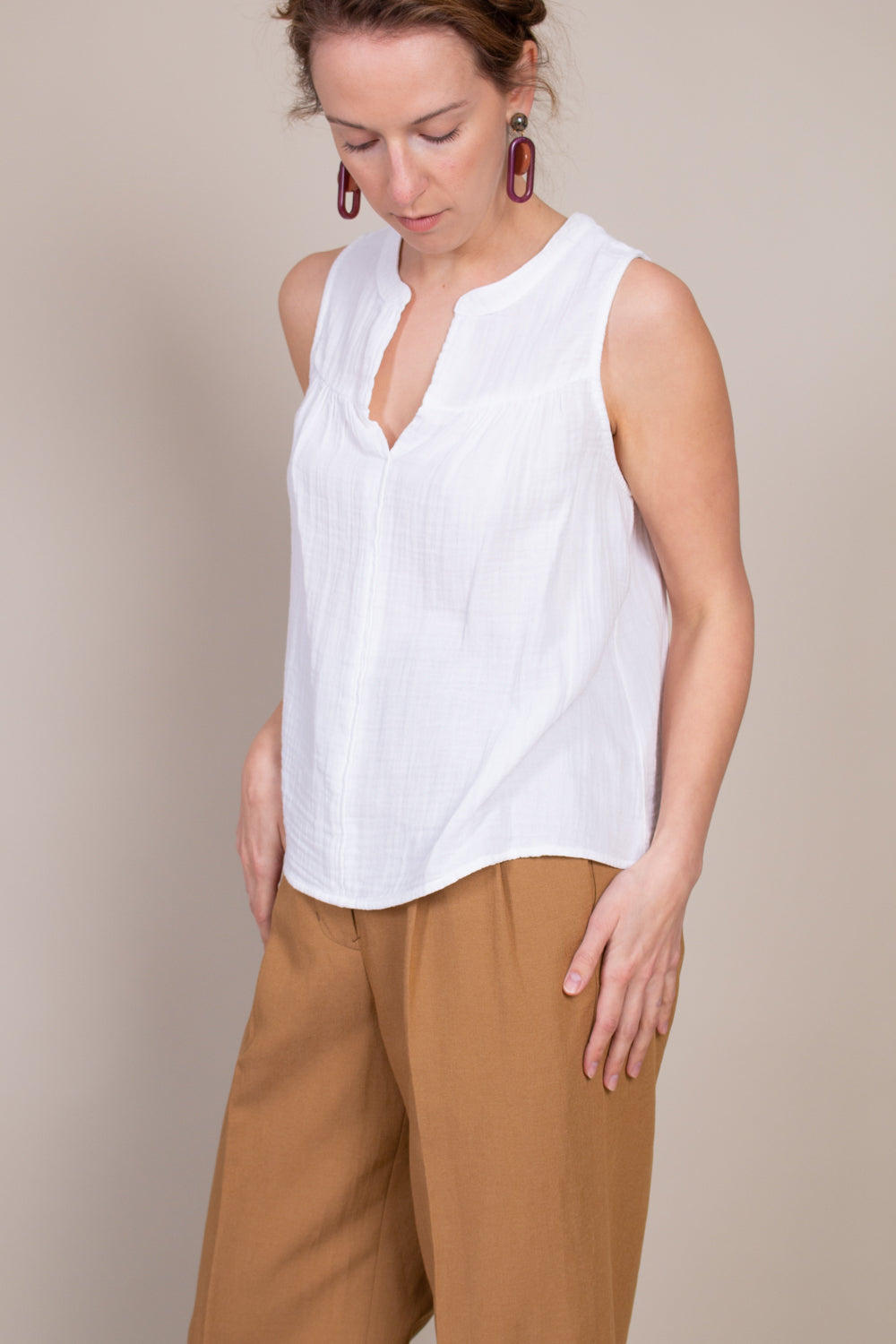 Carrie Top in White