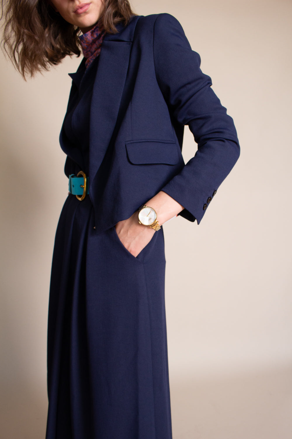Rachel Comey Litoralle Blazer in Midnight - Vert & Vogue