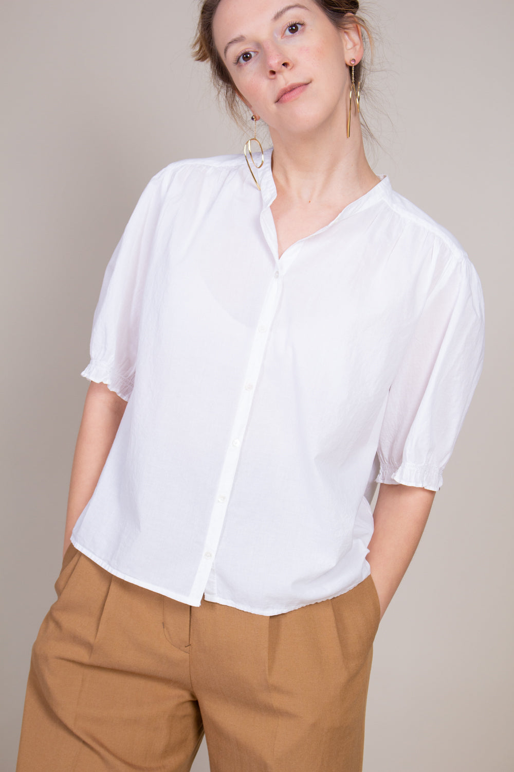 Eden Shirt in White
