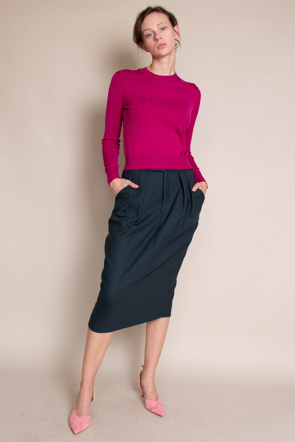Danziger Skirt in Dark Juniper