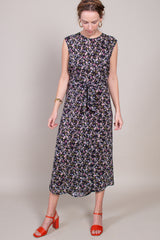 Anntian Easy Dress in B Print - Vert & Vogue