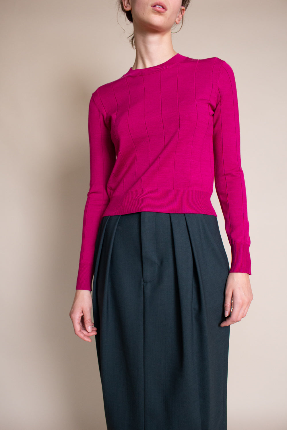 Tali Top in Fuchsia