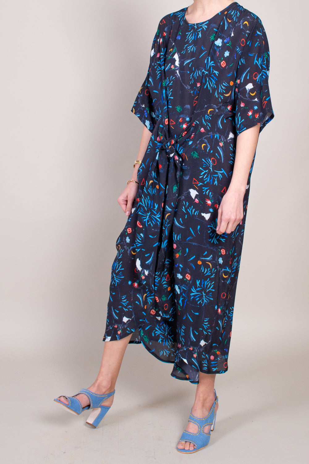 Turn-around Dress in A Print