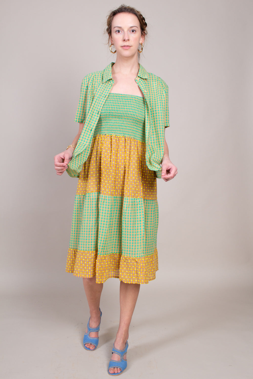 Daphne Skirt in Cantaloupe