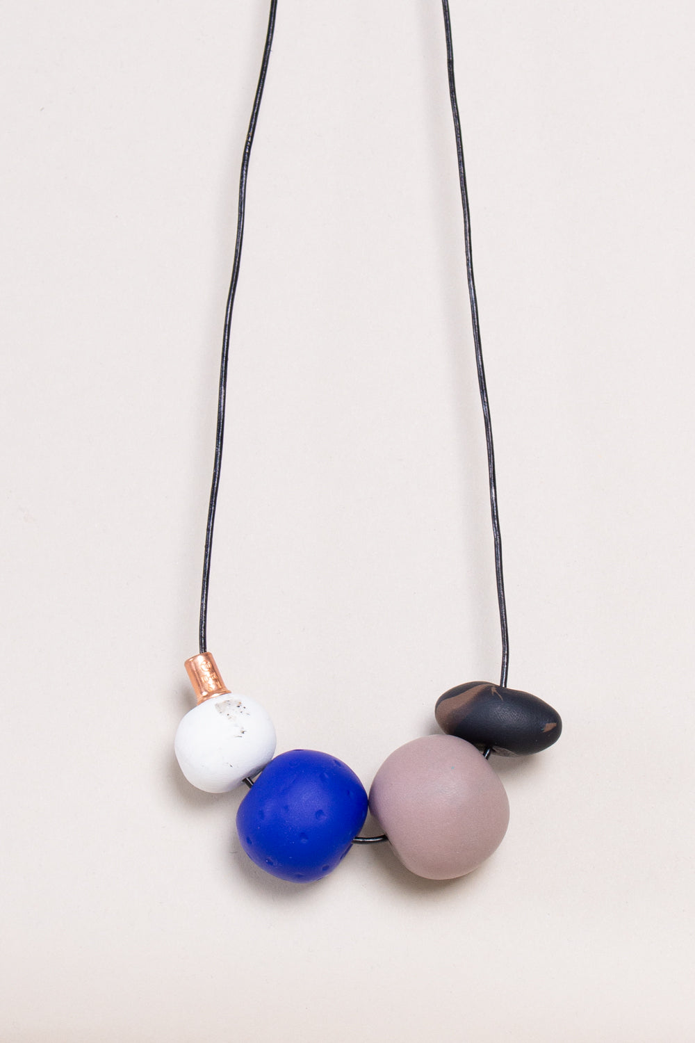 Andy Necklace in Blue Cobalt