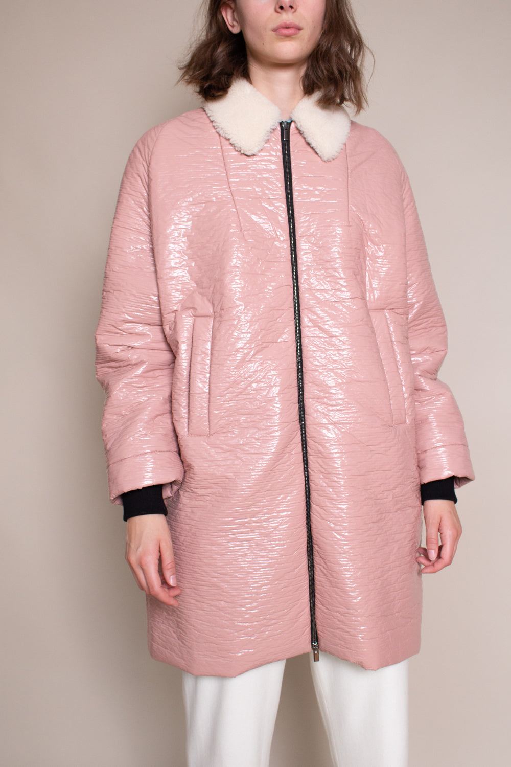 Jaunt Coat in Pink