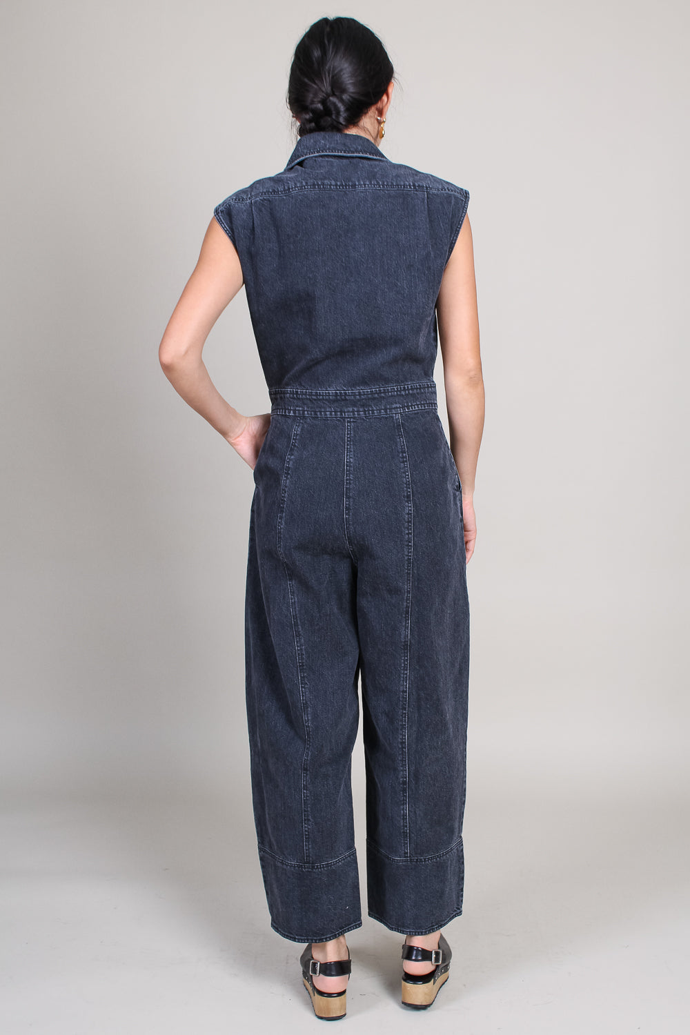 Annin Jumpsuit in Washed Black