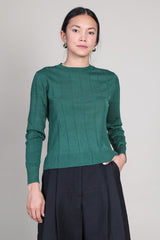Baylis Top in Forest Green