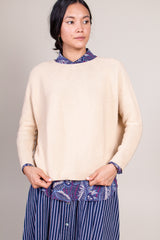 Kain Long Sleeve Shirt in Beige