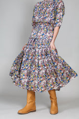 Dulce Skirt in Night Arte Floral