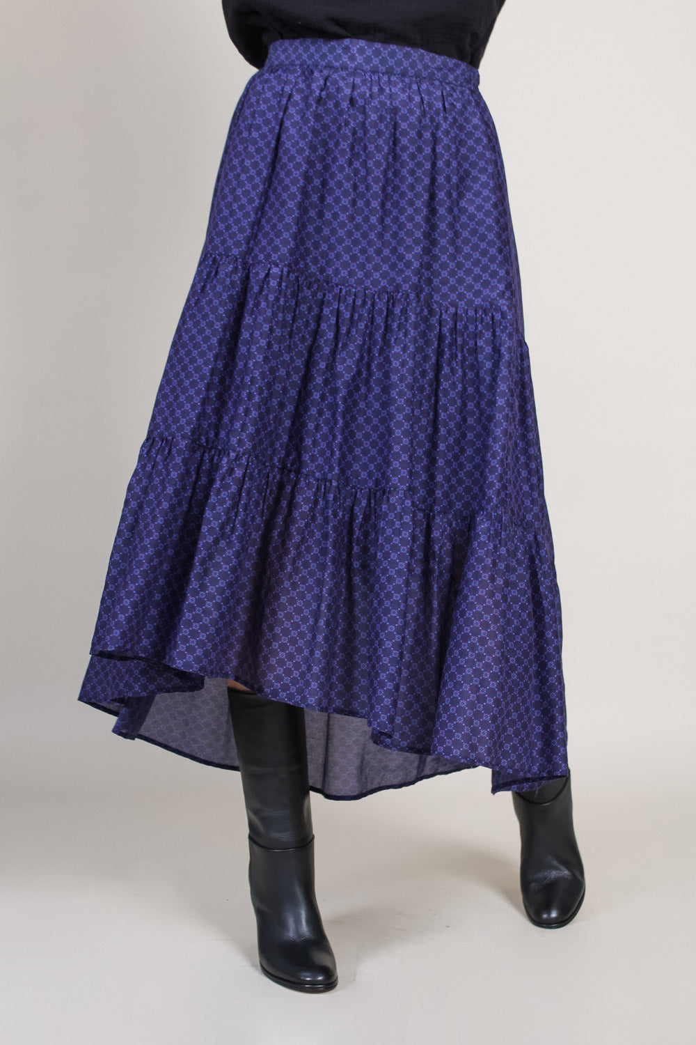 Iris Skirt in Agate Blue