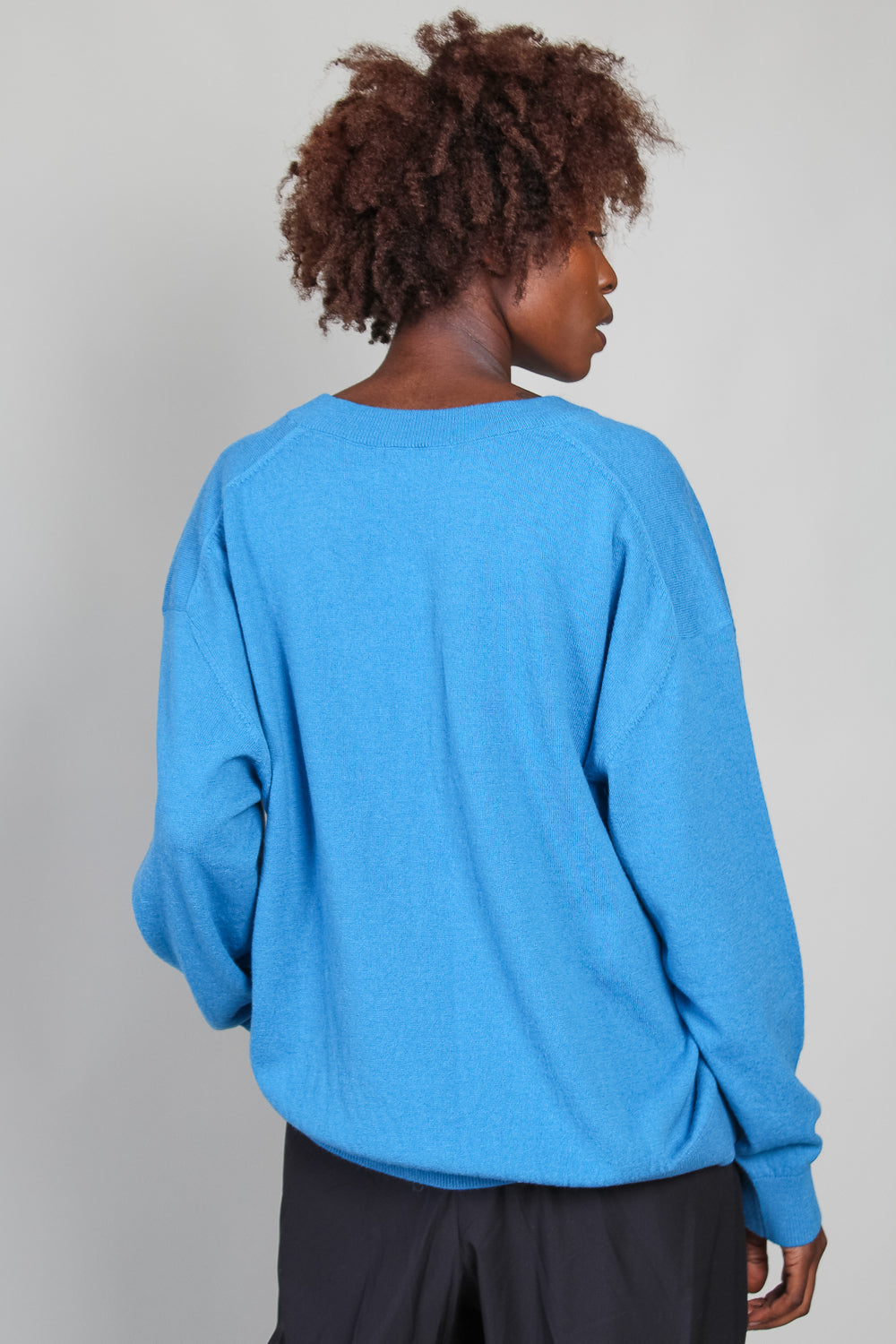 Khage Sweater in Duck Blue