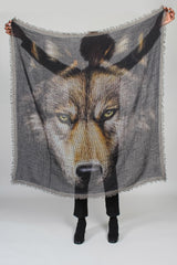 Ginga/Quadra Scarf in Wolf