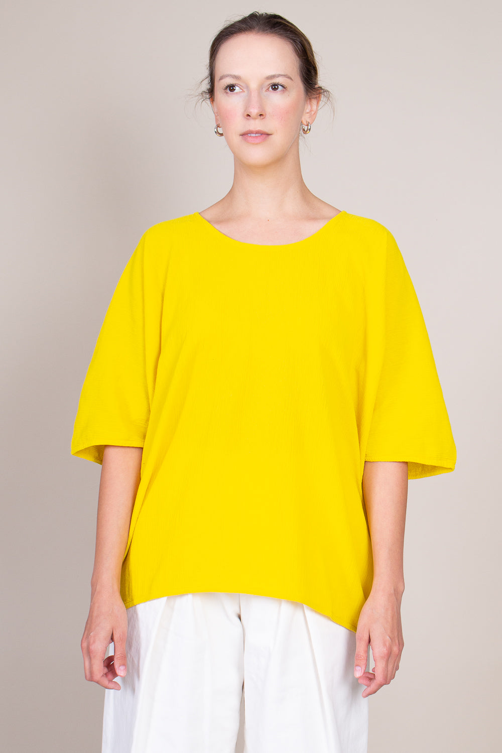 Loose Tee in Yellow