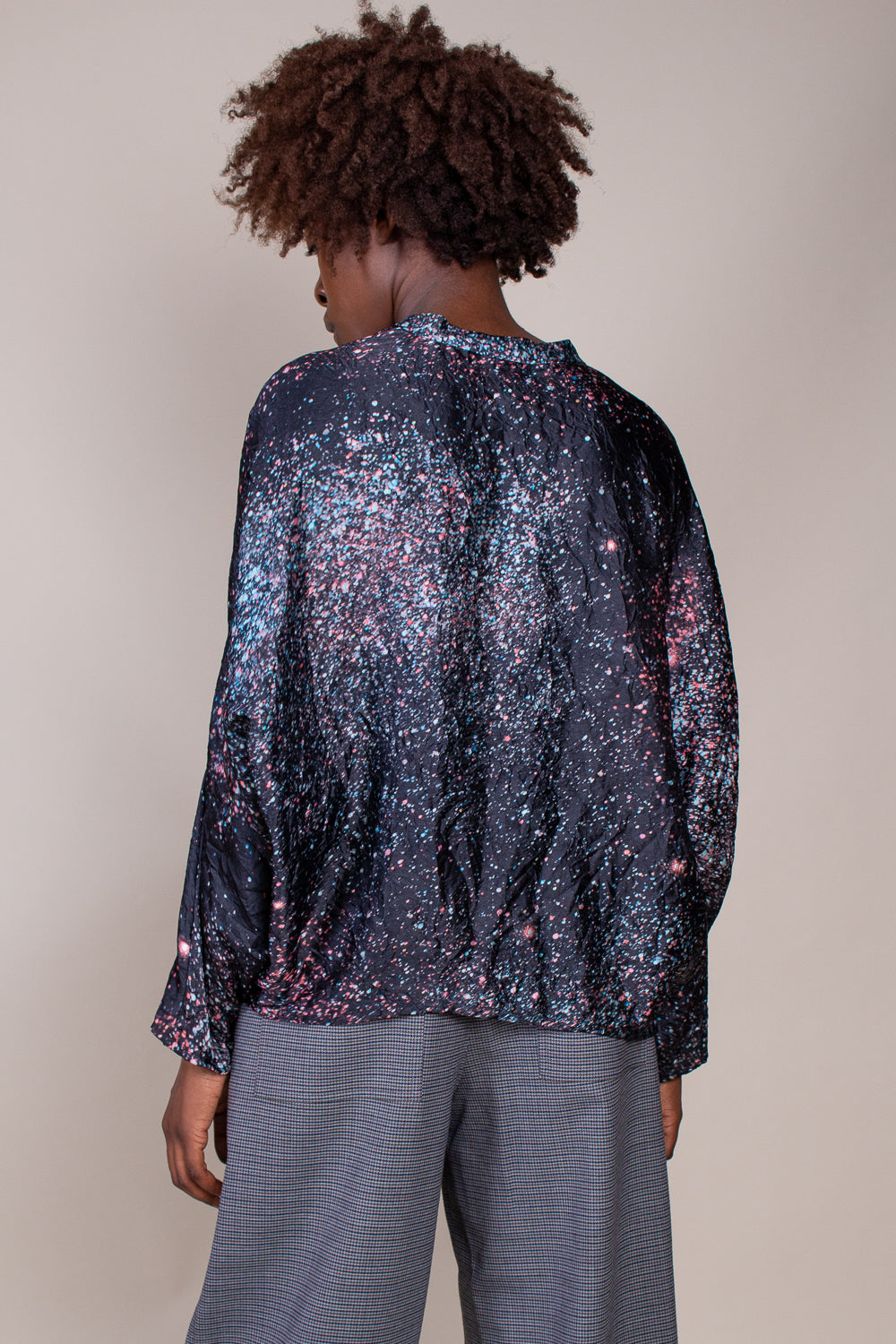 Sweati Top in H Print